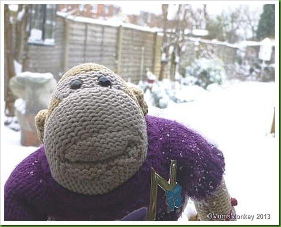 Snow hits UK jan 2013
