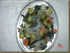 salada com macarrao