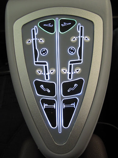 Seat controls or alien petroglyph?