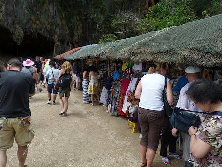 Standuri suveniruri Thailanda
