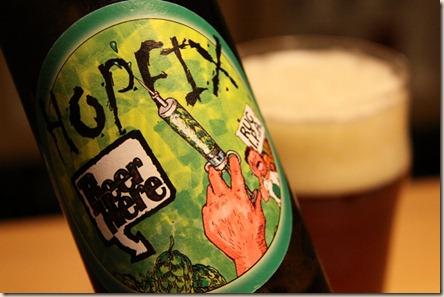 BeerHere Hopfix Label 1