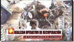10 IMÁGENES REALIZAN OPERATIVO DE RECUPERACIÓN DE AUTOPARTES EN EL MUNICIPIO.mp4_000006673