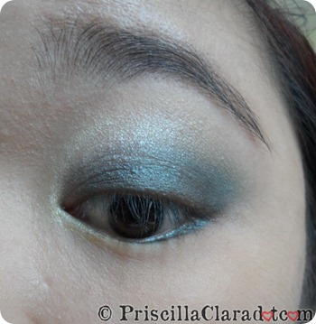 Park Bom Inspired Makeup Falling in Love Priscilla eyeshadow 1