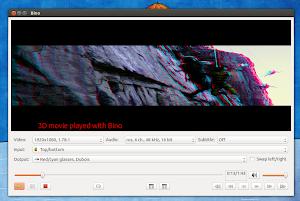 Bino su Ubuntu Linux