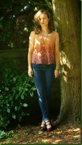 House of Fraser Mango skinny Olivia jeans