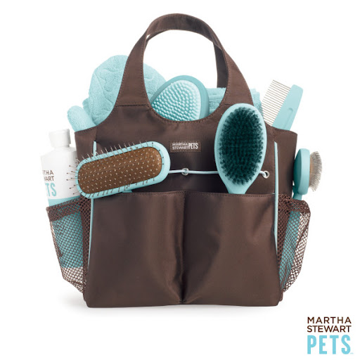 This Martha Stewart grooming tote is the ultimate set. (Petsmart.com)