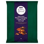 Asda Extra Special Hand Cooked Mixed Vegetable Crisps with Sea Salt