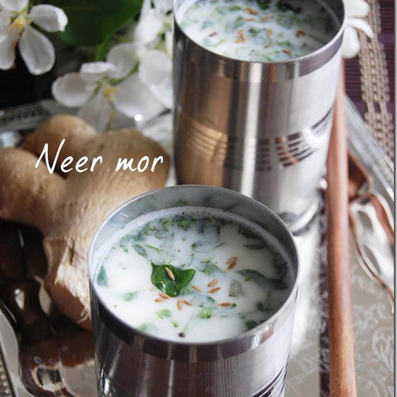 Neer mor / Spiced butter milk