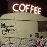 coffee caravan in Toronto, Ontario, Canada
