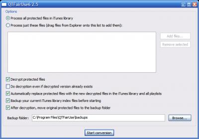 iTunes DRM - iTunes DRM removal application