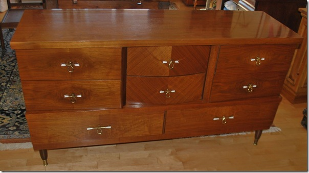 dresser walnut