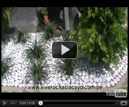 Como decorar un jard n con piedras de r o dise o y - Como decorar un jardin con piedras ...