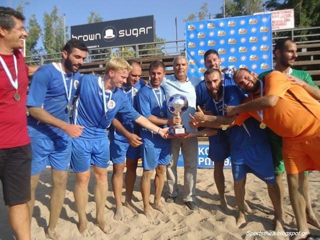Πρωταθλήτρια Ελλάδος στο ποδόσφαιρο άμμου ο Α.Ο. Κεφαλληνίας