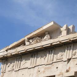 28 - Detalle del entablamento del Partenon
