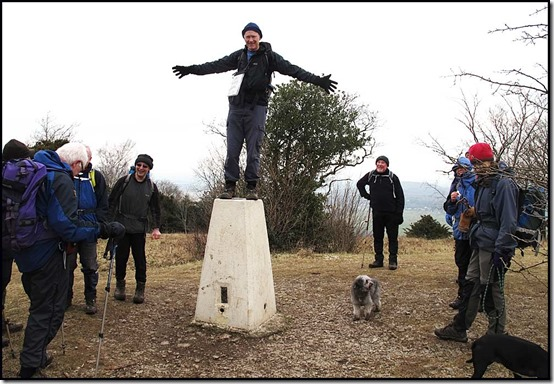 The Trig Point just had to be climbed