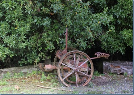 Old Farm Machinery, a real bone shaker