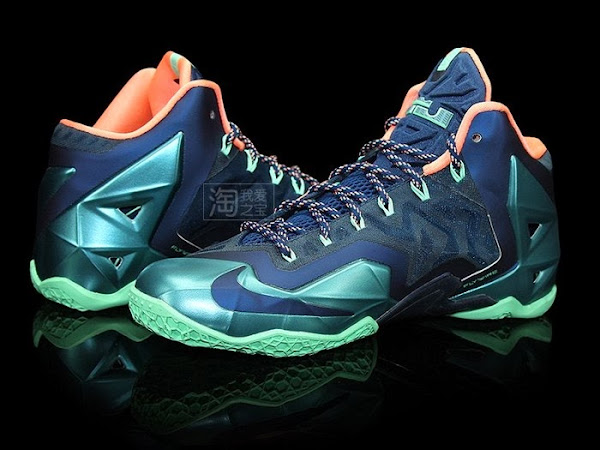 Release Reminder 8220Akron vs Miami8221 Nike LeBron XI 11