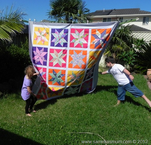 Starflower Quilt 3