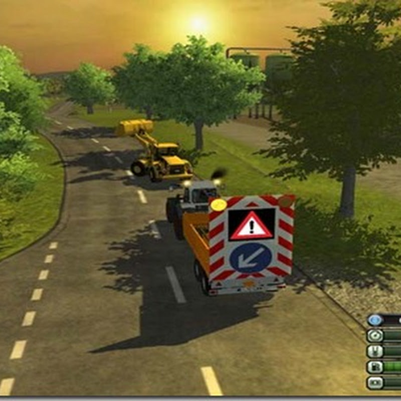 Farming simulator 2013 - Fliegl TDK 110 car warning v 1.0 Beta