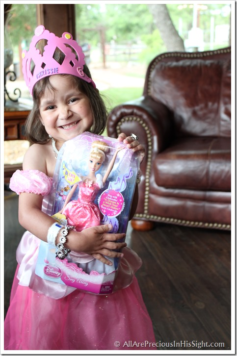 Chrissie's princess party and surgery 174