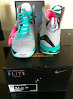 nike lebron 9 ps elite grey candy pink 5 06 LeBron 9 P.S. Elite Miami Vice Official Images & Release Date