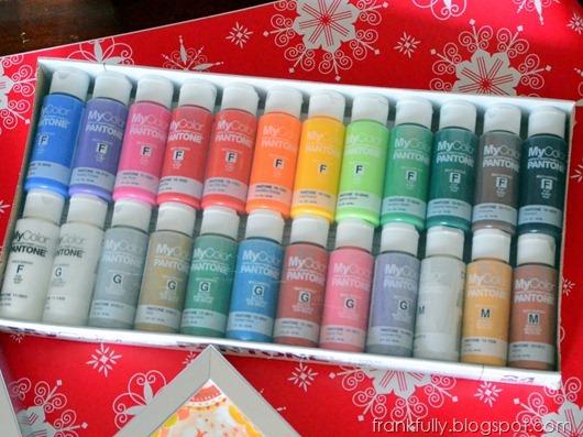 pantone paint set