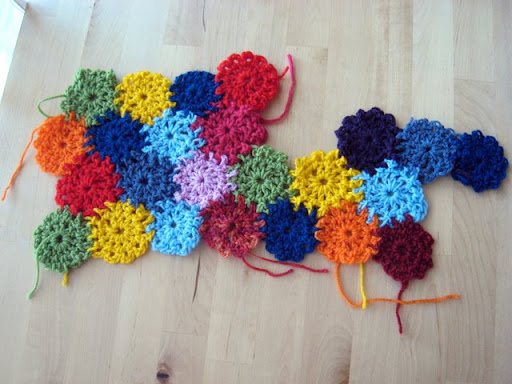 Crochet Yoyo Patterns : Free patterns for yoyo crafts
