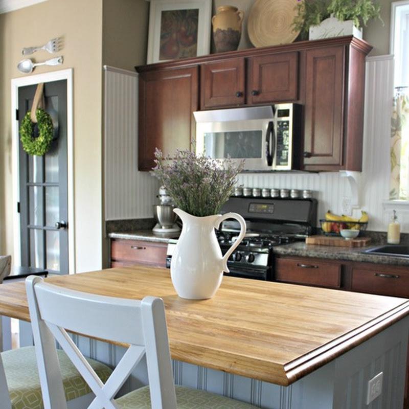 Final kitchen island plans