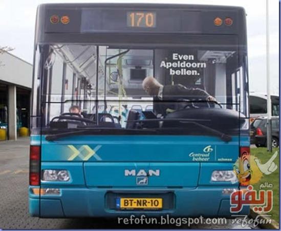 فن الاعلان على الحافلات عالم ريفو 6