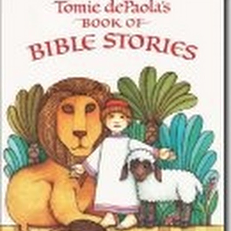 Virtual Book Club–Tommy DePaola Bible Stories