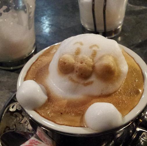Arte em café 4