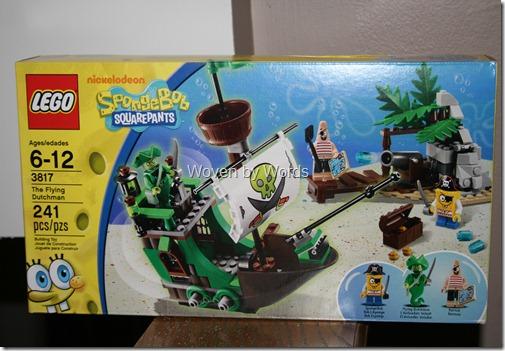 SpongeBob Lego Box