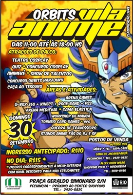 RJ - Orbits Vila Anime