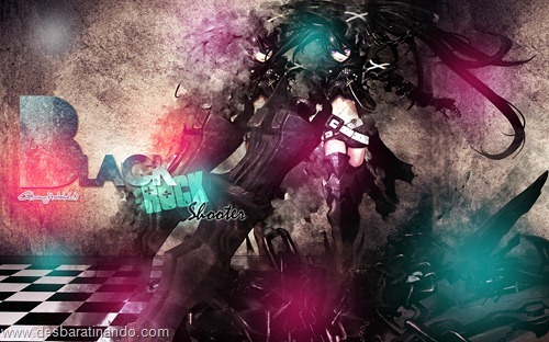 black rock shooter anime wallpapers papeis de parede download desbaratinando   (28)