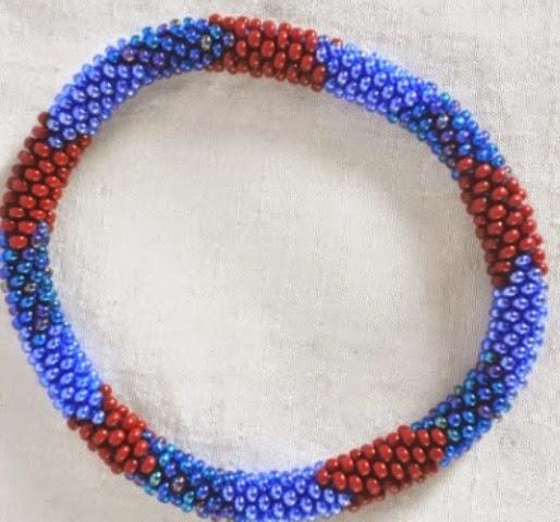 Rollover Glass Bead Bracekets