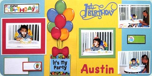austin's 1st birthday
