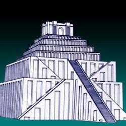 07.- Zigurat de ur reconstrucción