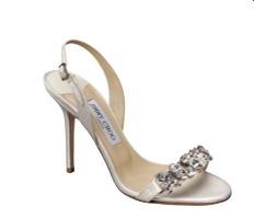A little sparkle never hurt, and these slingback sandals are party in the front, business in the back.