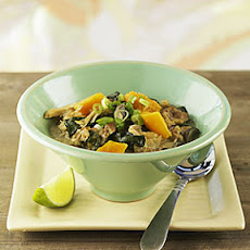 Spicy Southeast Asian Chicken And Squash Stew