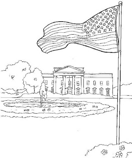 Coloring Pages Of The White House