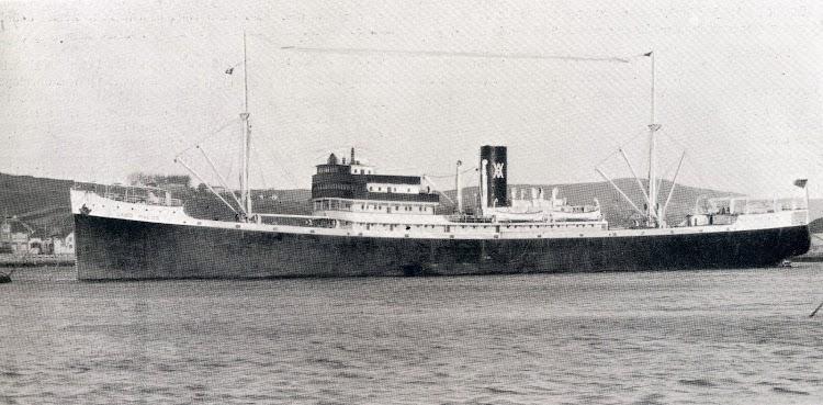 El CABO PALOS, en su momento la mas grande motonave del Estado. De la revista The Motor Ship. Marzo 1.927.JPG