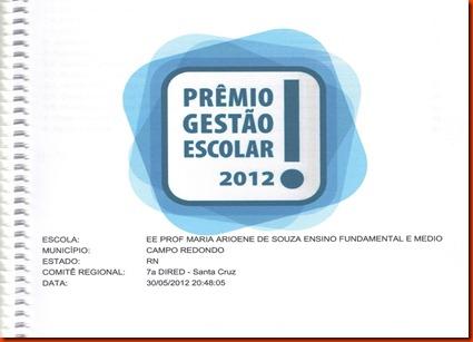 PREMIO GESTÃO 2012