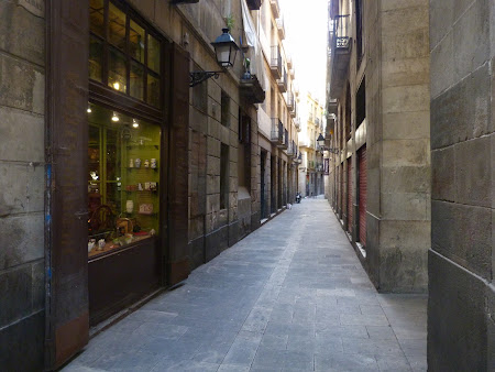 Obiective turistice Barcelona: Cartierul gotic