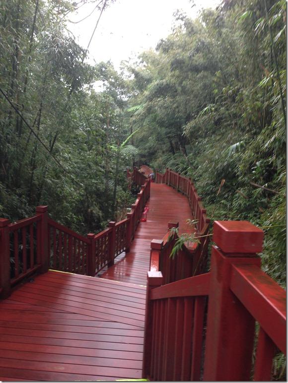 Shifen 十分 waterfall
