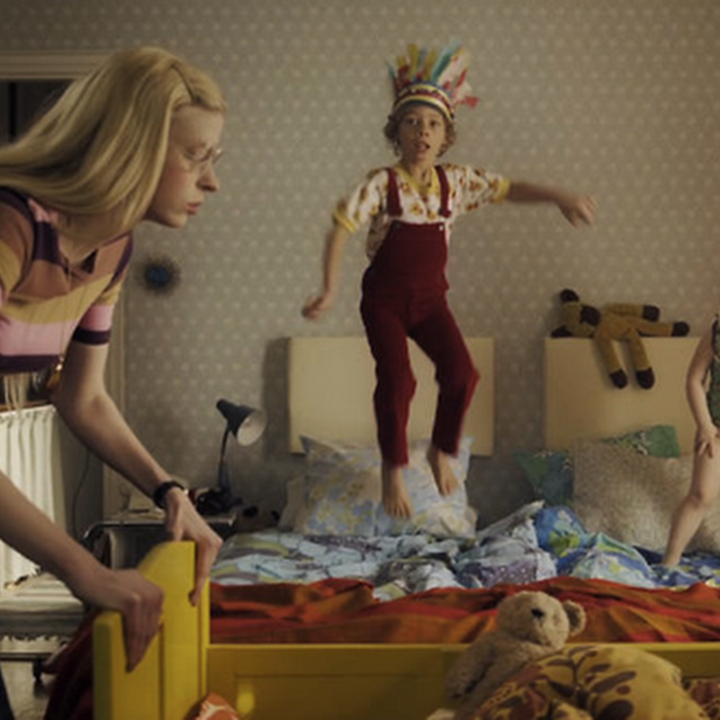 Un comercial de camas de IKEA