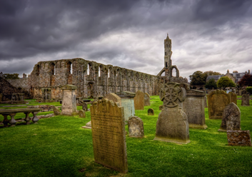 Celtic Graveyard Scotland Walp long goodbye