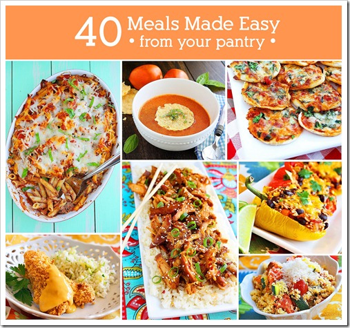 40 Meals Made Easy