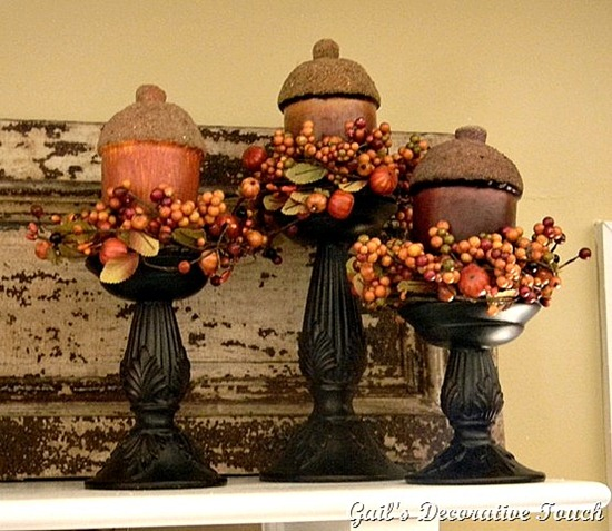 acorn topiaries tutorial