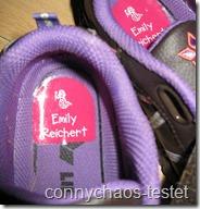 Schuh-Etiketten