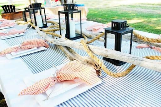 nautical theme adult birthday party ideas